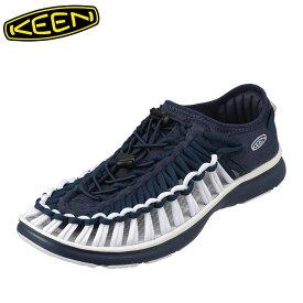 キーン KEEN 1021992 メンズ靴 靴 シューズ 2E相当 スニーカー 軽量 軽い UNEEK O2 ユニーク オーツー 小さいサイズ対応 大きいサイズ対応 ネイビー