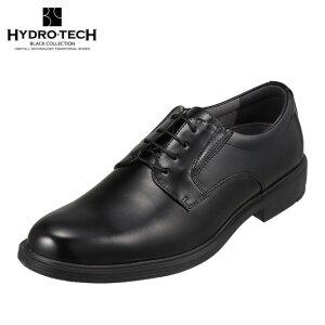 ハイドロテック ブラックコレクション HYDRO TECH HD1424 メンズ靴 靴 シューズ 4E相当 ビジネスシューズ 防水 防滑 雨の日 プレーントゥ 小さいサイズ対応 大きいサイズ対応 ブラック
