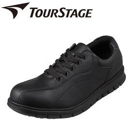 ツアーステージ TOURSTAGE TS-19001 メンズ靴 靴 シューズ 3E相当 カジュアルシューズ 軽量 軽い ストレッチ性 フィット 小さいサイズ対応 大きいサイズ対応 ブラック