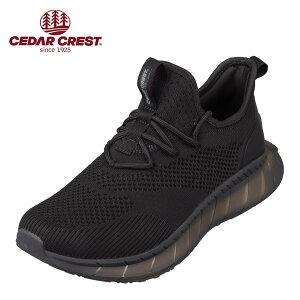 セダークレスト CEDAR CREST CC-9367 メンズ靴 靴 シューズ 2E相当 スポーツシューズ 透湿 防水 軽量 軽い 小さいサイズ対応 大きいサイズ対応 ブラック