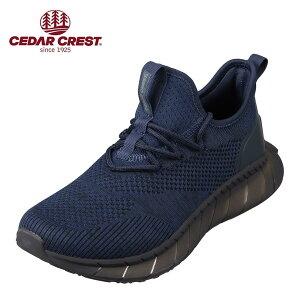 セダークレスト CEDAR CREST CC-9367 メンズ靴 靴 シューズ 2E相当 スポーツシューズ 透湿 防水 軽量 軽い 小さいサイズ対応 大きいサイズ対応 ネイビー