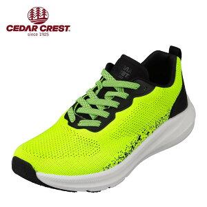 セダークレスト CEDAR CREST CC-9366 メンズ靴 靴 シューズ 2E相当 スポーツシューズ 透湿 防水 軽量 軽い 小さいサイズ対応 大きいサイズ対応 イエロー