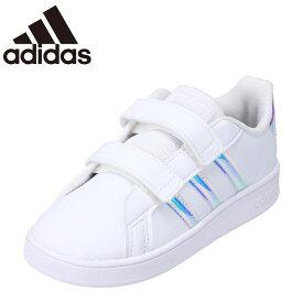 アディダス adidas FW1276 ベビー靴 靴 シューズ 2E相当 ベビーシューズ ファーストシューズ GRANDCOURT I お子様 子供靴 ホワイト
