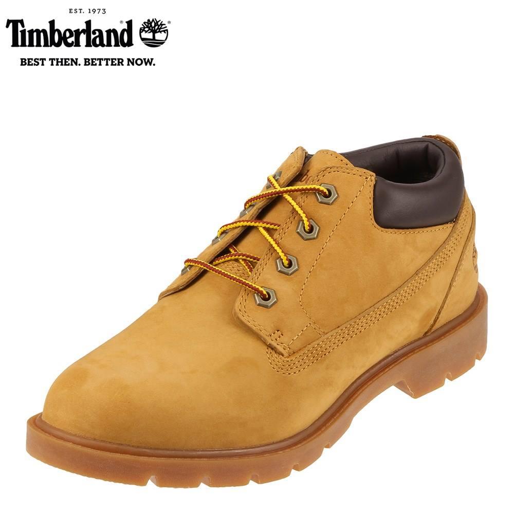 [ティンバーランド] Timberland TIMB 39581 メンズ | オックスフォードシューズ レースアップブーツ | 編み上げ BasicOxford | ヌバックレザー 耐久性 | 大きいサイズ対応 28.0cm | イエロー