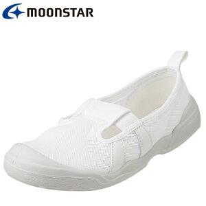 オトナノウワバキ 大人の上履き 1 11210551L レディース 大人用上履き 室内履き 軽量 リハビリ 介護 病院 スリッポン 着脱簡単 ホワイト (小さいサイズ)