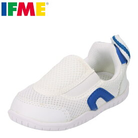 IFME イフミー 上履き うわばき 上靴 スクールシューズ キッズ 靴 靴 シューズ 子供 男の子 バレエシューズ スリッポン 甲高 幅広 幼稚園 保育園 小学校 スペアインソール付き 通気性 履きやすい SC-0002 ブルー