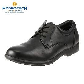 ハイドロテック ビジネスシューズ HYDRO TECH ファインセッター HD 1906 メンズ靴 靴 シューズ 4E ビジネスシューズ 防水 外羽根 プレーントゥ 黒 軽量 軽い ビジネス 通勤 仕事 衝撃吸収 滑りにくい 雨の日 大きいサイズ 対応 28.0cm ブラック