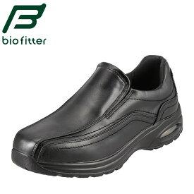 バイオフィッター スリッポン Bio Fitter スタイリッシュフォーメン BF-3902 メンズ靴 靴 シューズ 4E ウォーキングシューズ ローカット 幅広 防水 防臭 軽量 滑りにくい 衝撃吸収 旅行 行楽 お出かけ 大きいサイズ 対応 28.0cm ブラック
