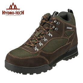 ハイドロテック ブーツ HYDRO TECH ハイキングシリーズ 6360 メンズ靴 靴 シューズ 3E アウトドアシューズ 防水 ハイキング 軽登山 ハイカット 反射 反射材 ラギットソール 滑りにくい 衝撃吸収 温度調節機能 大きいサイズ 対応 28.0cm オリーブ