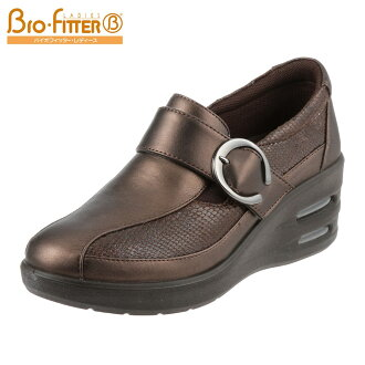 [Biofilter ladies] BIO FITTER LADIES BFL-822 ladies | Comfort shoes | Slip-on casual shoes | Light weight air cushion | Walking shoes | 05P24Oct15 bronze (small size) (large size)