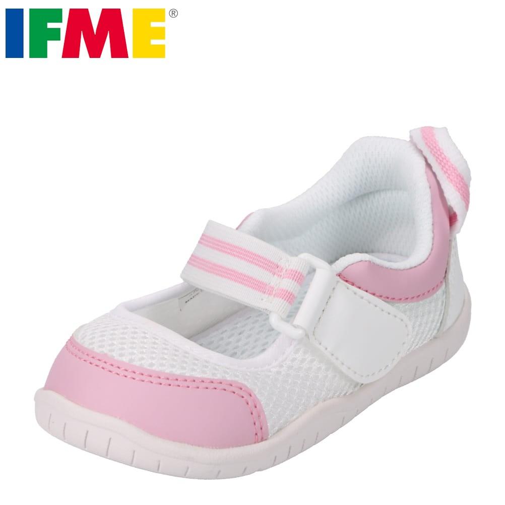 イフミー IFME 上履き SC-0003 キッズ 靴 靴 シューズ 上靴 子供 女の子 キッズ バレーシューズ 甲高 幅広 幼稚園 保育園 小学校 履きやすい スペアインソール付き ピンク