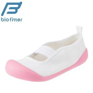 上履き Bio Fitter キッズ BF-001P キッズ 靴 靴 シューズ 2E 子供靴 女の子 上靴 室内履き 日本製 国産 学校 スクールシューズ 幼稚園 小学校 乾きやすい つま先ゆったり ピンク