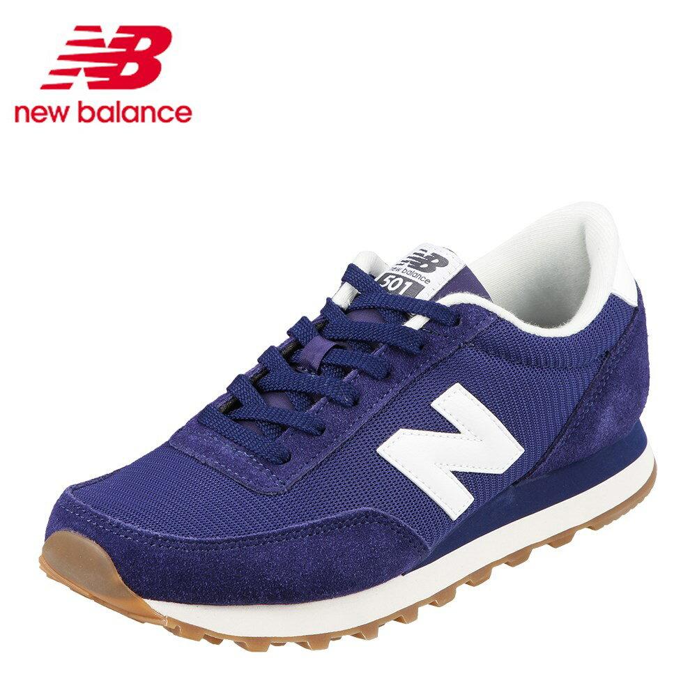 ニューバランス new balance スニーカー ML501CVCD メンズ靴 靴 シューズ D メンズ スニーカー クラシック 501 カジュアル スニーカー レトロ ローカット ランニングモデル おしゃれ 大きいサイズ対応 28.0cm ネイビー×ホワイト