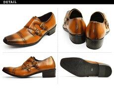 12種類から選べる福袋ビジネスシューズ2足セットビジネスメンズスリッポンストレートチップウイングチップスクエアトゥ革靴脚長イタリアンデザイン紳士靴靴メンズ