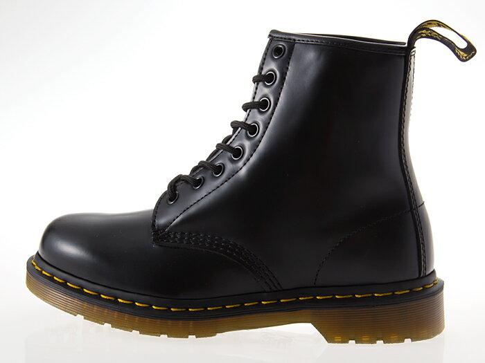 [ドクターマーチン] Dr.Martens 1460 8HOLE BOOT 8ホール ブーツ BLACK 黒 #11822006