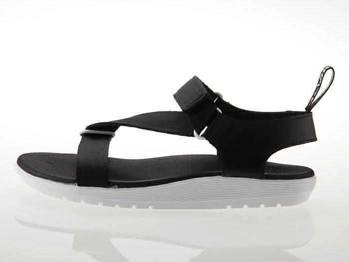 [ドクターマーチン] Dr.Martens BALFOUR Z STRAP SANDAL バルフォア ゼット ストラップ サンダル メンズ・レディースサイズ BLACK/WHITE ブラック/ホワイト 黒/白 #22431001