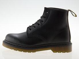 ドクターマーチン Dr.Martens 101 6HOLE BOOT 6ホール ブーツ メンズ・レディースサイズ BLACK ブラック 黒 #24255001