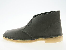 クラークス CLARKS ORIGINALS DESERT BOOTS デザートブーツ SLATE GREY SUEDE スレートグレー スエード #26144232