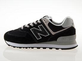 ニューバランス NEW BALANCE WL574EB レディースサイズ BLACK ブラック 黒 ワイズB