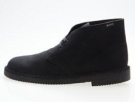 クラークス CLARKS ORIGINALS DESERT BOOTS GTX デザートブーツ ゴアテックス BLACK SUEDE ブラック スエード #26144244