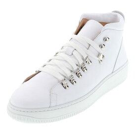 ボエモス ブーツ BOEMOS メンズ ハイカット スニーカー 靴 BM-4503 E20-4503 ホワイト WHITE 白 DAYTONA BIANCO 24.5cm〜27.0cm