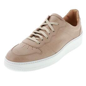 ボエモス BOEMOS メンズ ローカット スニーカー 靴 BM-4480 E20-4480 ART.BUEWAX COCCO BEIGE ベージュ 天然皮革 24.5cm〜27.0cm