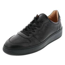 ボエモス BOEMOS メンズ ローカット スニーカー 靴 BM-4480 E20-4480 ART.BUEWAX ブラック BLACK 黒 天然皮革 24.5cm〜27.0cm