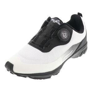 ダイヤルドライブ プロテクト 防水 ジュニア シューズ 運動靴 キッズ スニーカー 047128-19 簡単に履ける ワイヤー紐 白 ホワイト 19.0cm〜23.0cm