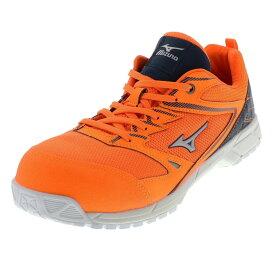 メンズ 安全靴 MIZUNO ミズノ オールマイティVS オレンジ F1GA180354 T4954638074925
