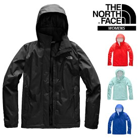 THE NORTH FACE VENTURE 2 (NF0A2VCR) / RESOLVE 2 (NF0A2VCU-JK3) JACKET WOMEN BLUE RED / BLACK ザ・ノースフェイス ベンチャー2 ジャケット レディース マウンテンパーカー ウィンドブレーカー ブラック