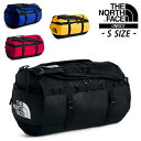 THE NORTH FACE BASE CAMP DUFFEL S TNF BLACK / BLUE / RED / SUMMIT GOLD NF0A3ETO(NM81815K) ノースフェイス BCダッフルS ベースキャンプ Sサイズ