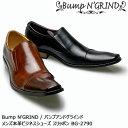 【20%OFF!】Bump N' GRIND バンプアンドグラインド メンズ MENS 本革 ビジネスシューズ ドレスシューズ ロングノーズ 靴 くつ シューズ 革靴 スリッポン 紳士靴 BG-2790 【送料無料】【あす楽】
