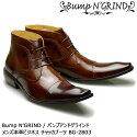BumpN'GRINDバンプアンドグラインドメンズMENS本革ビジネスブーツビジネスロングノーズ靴くつシューズ革靴紳士靴