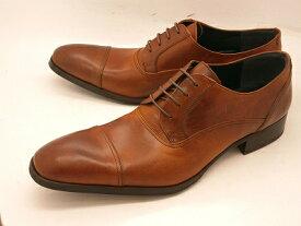 【栃木レザー使用】whoop'-de-doo' フープディドゥ 高級革ブラッチャーストレートチップ 103313(キャメル) メンズ靴