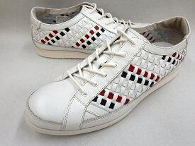 CASTELBAJAC カステルバジャック メッシュカジュアルスニーカー 12232(ホワイト)靴 メンズ