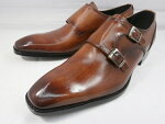 アントニオドゥカティスタイリッシュ・ダブルストラップDC1132(ブラウン)ANTONIODUCATIメンズ靴ビジネスシューズ