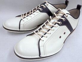 【19年秋発売 】 キャサリンハムネット スニーカーカジュアル HAMNETT 37044(ホワイト)KATHARINE HAMNETT メンズ靴