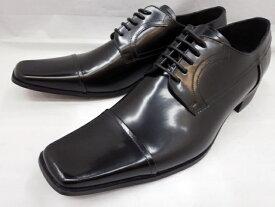 【日祝も即日発送可能】キャサリンハムネット靴 ビジネスシューズ ストレートチップ 3947(ブラック) KATHARINE HAMNETT メンズ 紳士靴