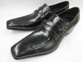 【大ヒット!後継品】 キャサリンハムネット 靴 モンクストラップ ビジネスシューズ 31591(ブラック) KATHARINE HAMNETT メンズ 紳士靴