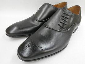 【19年秋冬最新!】 キャサリンハムネット 靴 ビジネスシューズモールドソール サイドレース 31615(ブラック) KATHARINE HAMNETT メンズ 紳士靴