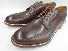 【19年秋冬最新!】 キャサリンハムネット 靴 ビジネスシューズウィングチップ 31618(ダークブラウン) KATHARINE HAMNETT メンズ 紳士靴