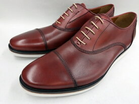 【19年秋冬最新!】 キャサリンハムネット 靴 ビジネスシューズラウンドトゥ ストレートチップ 31621(レッド) KATHARINE HAMNETT メンズ 紳士靴