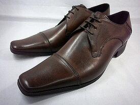 【日祝も即日発送】 キャサリンハムネット 靴ビジネスシューズ ブラッチャー・ストレートチップ 3980(ダークブラウン) KATHARINE HAMNETT