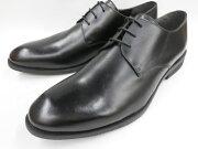 【激安!マッケイ式】Robepleine(ロベプラン)本革ビジネスシューズプレーントゥRP-3001(ブラック)メンズ靴
