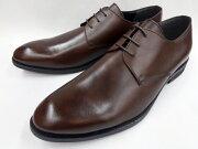 【激安!マッケイ式】Robepleine(ロベプラン)本革ビジネスシューズプレーントゥRP-3001(ダークブラウン)メンズ靴