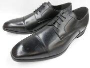 【激安!マッケイ式】Robepleine(ロベプラン)本革ビジネスシューズスタイリッシュストレートチップRP-3002(ブラック)メンズ靴
