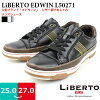 Mens shoes leather-like EDWIN LIBERTO liberto Edwin xiharahimo type lining mesh urethane Cap insert cushion of good and a non-slip slip □ l50271 □