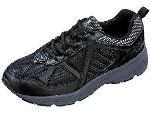 スニーカー 靴 DUNLOP ダンロップ M 240 ブラック マックスランライト DM 240 幅広5E/軽量設計/ガセット/フレックス設計 カップインソール/反射材/防水機能