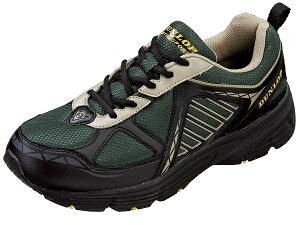スニーカー 靴 DUNLOP ダンロップ M 240 モスグリーン マックスランライト DM 240 幅広5E/軽量設計/ガセット/フレックス設計 カップインソール/反射材/防水機能