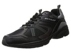 ダンロップ DM 153 マックスランライト M 153 ブラック MAXRUN Light スニーカー 靴 DUNLOP 幅4E 軽量設計 撥水加工